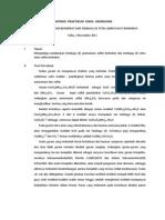 Laporan Praktikum Kimia Anorganik