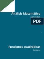 Ejemplos de Funciones Cuadráticas)2003