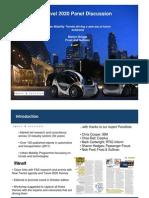 Frost Sullivan Travel 2020 Urbanmobilitytrendsoctober2011-111110052410-Phpapp02