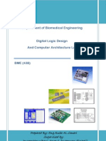 BME 438 Digital Logic Design and Computer Architecture Lab[1]