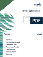 CPICH Optimization