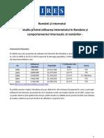 Ires Romanii Si Internetul 2011 Analiza