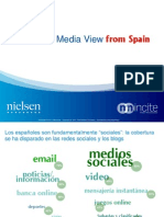 Nielsen - The Social Media View From Spain