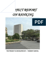 PROJECT ON BANKING, TANMOY SANYAL