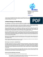 Wwec2002 a Global Strategy for Wind Energy
