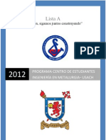 Programa Lista A CEMET USACH 2011-2012 Final.