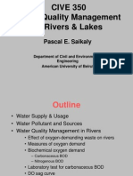 Pascal Saikaly Lecture Water Quality Management 2010