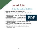 Recortes 214 10-11-2011