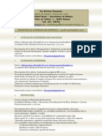 Ofertas de empleo y formación - 25 de noviembre