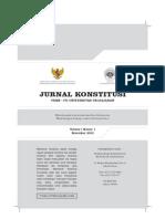 02. Jurnal Kontitusi UNPAD Vol 1 No 1