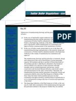 IBR Formalities