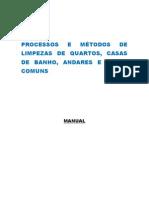 Processos e Métodos de Limpezas de Quartos
