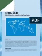 Product Bulletin EPDA 5040 375