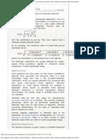 Encyclopeddia of Laser Physics and Technology - Sellmeier Formula, Refractive