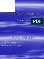 MM Chap 11,Product & Product Lines