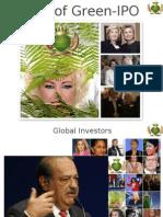 Queen of Green -IPO Nov 24th 2011