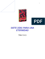 Levy Marc - Siete Dias Para Una Eternidad