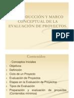 I Introducción y Marco Conceptual de la Evaluación de Proyectos