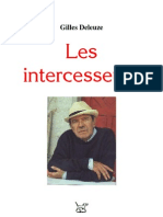 6544566 Gilles Deleuze Les Intercesseurs