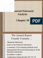 BAB 18 - Financial Statement Analysis