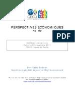Les previsions de l'OCDE pour 2012