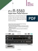 HTR5560 Brochure