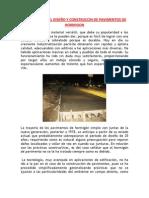CONCEPTOS EN EL DISEÑO Y CONSTRUCCIN DE PAVIMENTOS DE HORMIGON