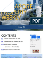 Singapore Property Weekly Issue 27