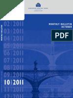 Monthly Bulletin ECB - Okt 2011