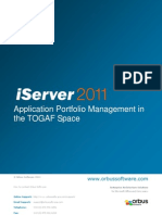 Apm in the Togaf Environment