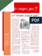 NE COUPEZ PAS n°15 - Décembre 2011
