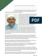 Transkrip Penuh Ucapan Dato Seri Abdul Hadi Awang Pada 15 Oktober 2008