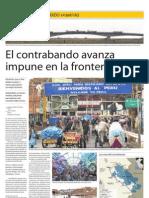 El Contrabando Avanza Impune en La Frontera Sur