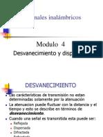 Wireless Clase 4 - Desvanecimiento y Dispersion