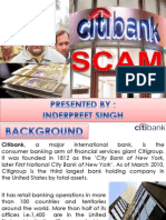 Citibank Scam