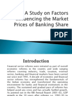A Study on Factor Influencing the Market Prices