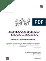 Jendaurreko Irakurketa-2011-12