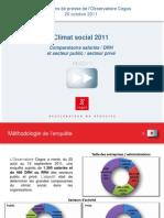 Enquete CEGOS-Climat Social 2011