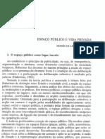 Espaço Público e Vida Privada — Moisés de Lemos Martins