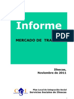 Informe Grafico - Trabajo DESEMPLEO ILLESCAS - NOVIEMBRE 2011