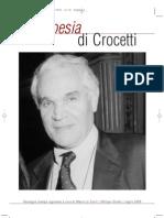 La Storia Dell Editore Crocetti e Della Rivista Poesia