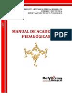 MANUAL DE ACADEMIAS PEDAG+ôGICA 2010