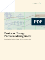 Business Change Portfolio Management