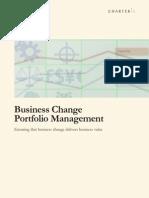 Business Change Portfolio Management