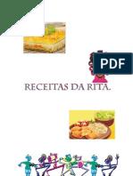 RECEITAS DA RITA