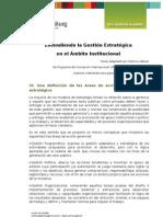 6_Areas de  la Gestión Estratégica