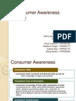 Consumer Awareness Index