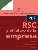 Informe 2010. La Responsabilidad Corporativa en España