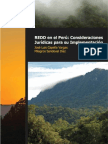 Aspectos Legales de Redd en Peru