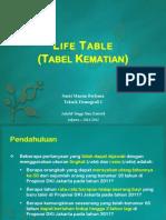 03 Life Table